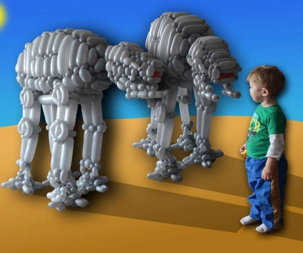 Balloon Animal AT-ATs: Hoth Air