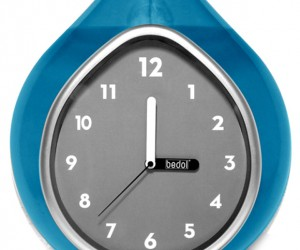 Bedol Water Wall Clock Runs on High Quality H20