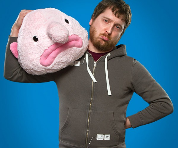Blobfish Plush: Ziggy of the Sea