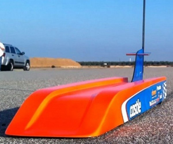 World's Fastest R/C Car Hits 188 Miles per Hour