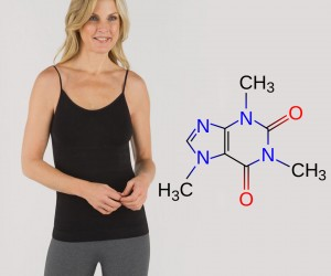 Wear This, Get Slim: Caffeine-Infused Clothing