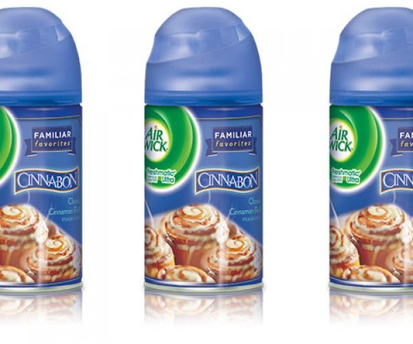 Cinnabon Air Fresheners Exist