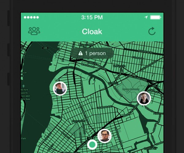 Cloak App Uses Foursquare & Instagram to Help You Avoid People: The Antisocial Network