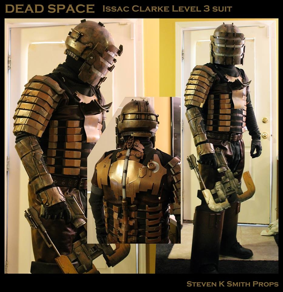 level three dead space costume ready to take on necromorph