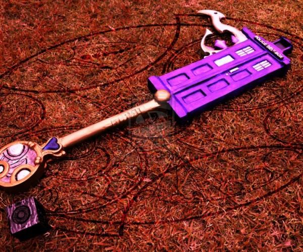 Temporal Schism Keyblade: Doctor Sora