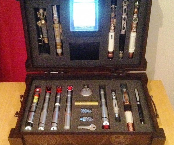 Sonic Screwdriver Briefcase: Timelord Toolbox