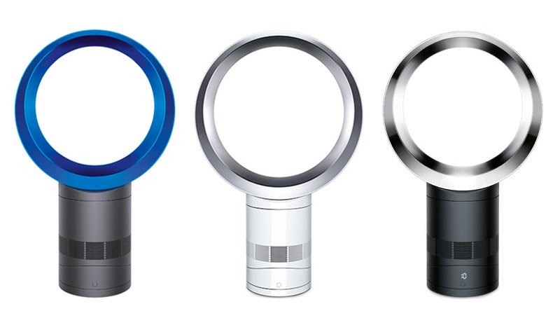 dyson air multiplier second generation fans are much quieter and still expensive technabob. Black Bedroom Furniture Sets. Home Design Ideas