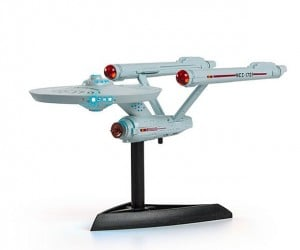 Star Trek Mini Light-up Enterprise: Warp Speed or Light Speed?