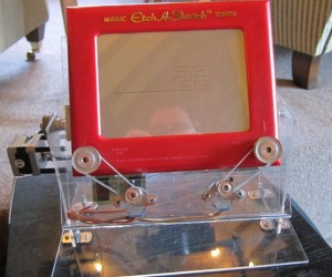 Etch a Sketch Clock Draws the Time: It's Sketch O' Clock
