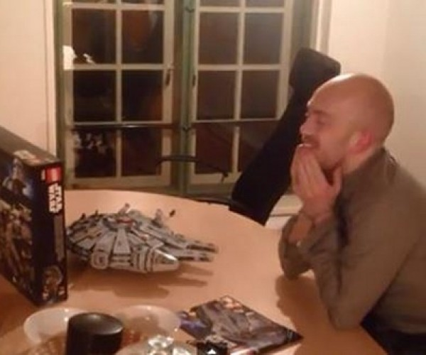 LEGO Millennium Falcon Prank: She Might Not Look Like Much…