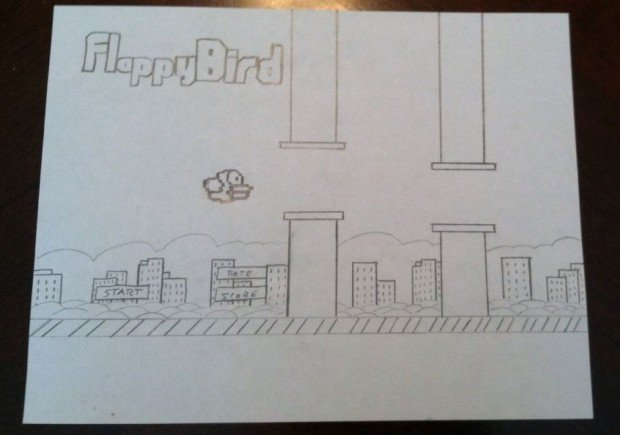 flappy bird art 620x435