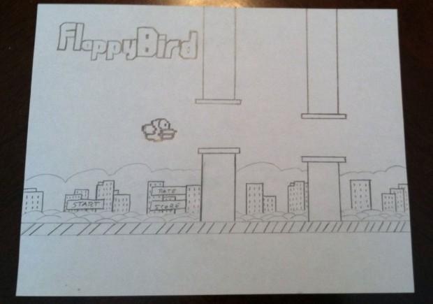 flappy bird art
