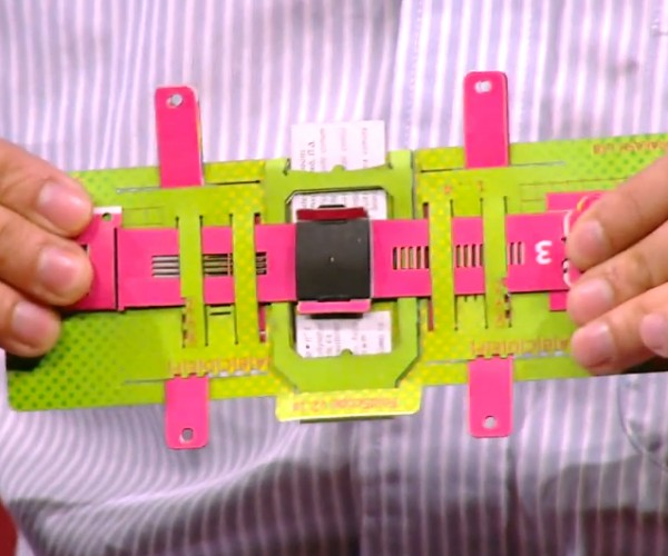 Origami-based Paper Microscope Costs Less than $1 to Make: Foldscope