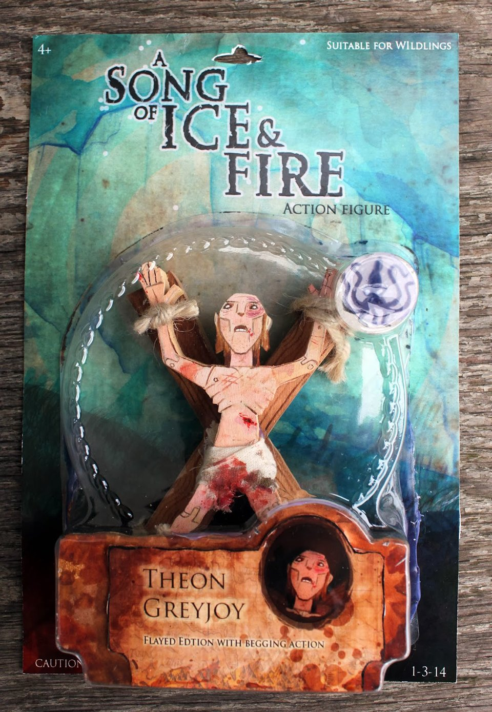 A Song of Ice and Fire Battle Damaged Action Figures: Toys of Wood and Paint - Technabob