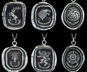 Official Game of Thrones Jewelry: Sterling Sigils