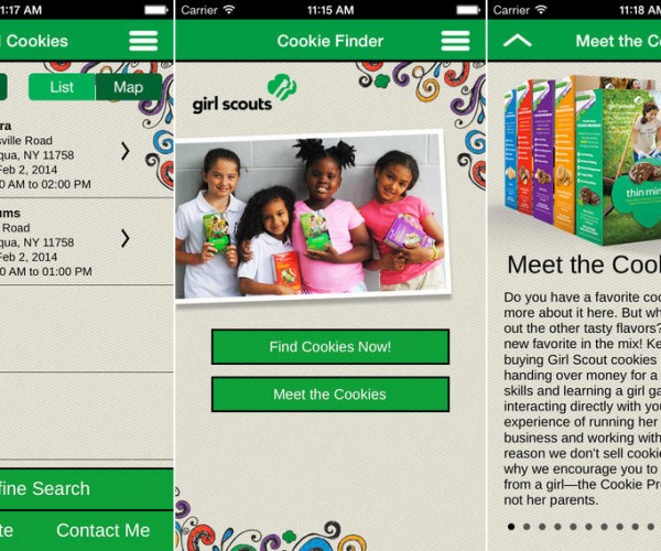 This App Helps You Locate Girl Scout Cookies