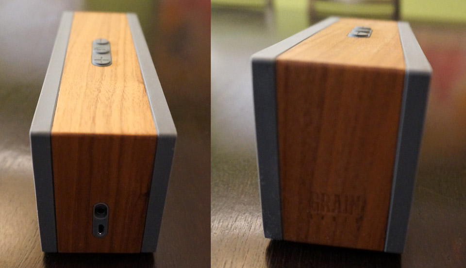 Review Grain Pws Wood Bluetooth Speaker Big Boom Small