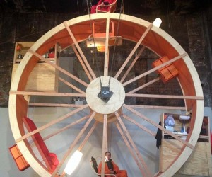 Two Guys Living in a Giant Hamster Wheel