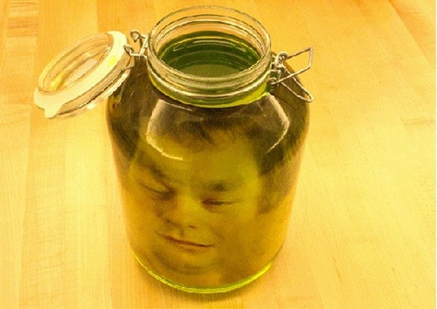 Head In A Jar Prank Perfect For April Fools Day
