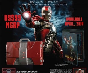 Iron Man 2: 1/4 Scale Mark V Suitcase Mobile Fuel Cell Will Keep You Powered up