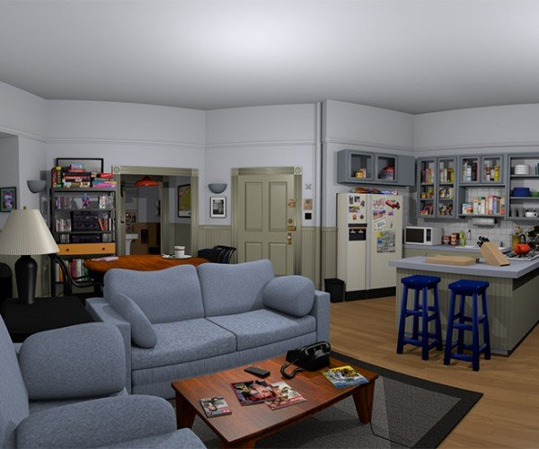 Explore Jerry Seinfeld's Apartment Using Oculus Rift