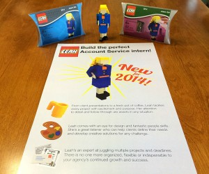 LEGO Job Application Set: You Just Lost Your Chances with Mega Bloks, Kid