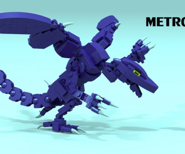 LEGO Metroid Concept: Mother Brick