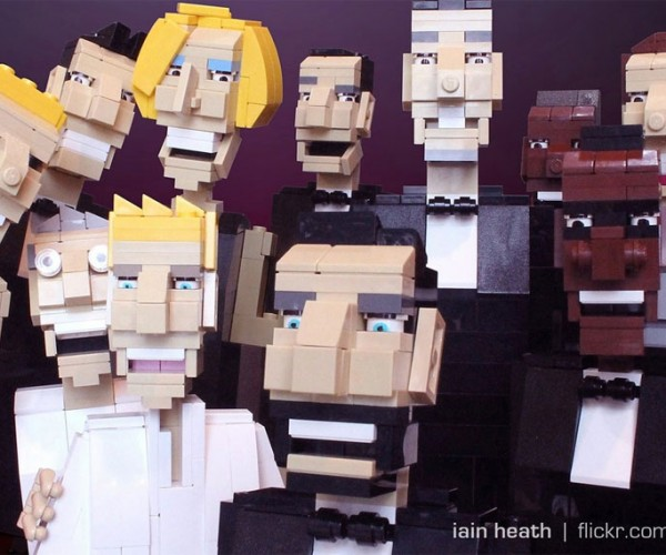 LEGO Oscar Selfie Is Better Than the Real Thing