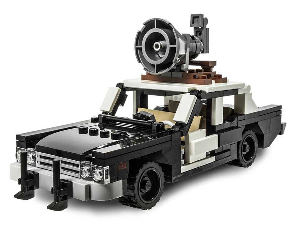 LEGO Bluesmobile Kit Is on a Mission from God - Technabob