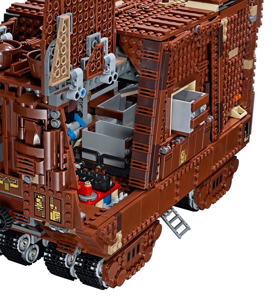 Lego star wars sandcrawler is official technabob for Motor wars 2 hacked