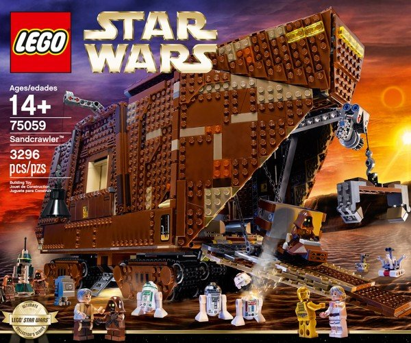 LEGO Star Wars Sandcrawler is Official