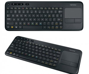 Logitech Harmony Smart Keyboard Supports Typing on Set-top Boxes and Game Consoles