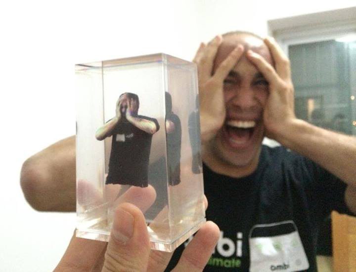 new improved looking glass volumetric prints slices of life
