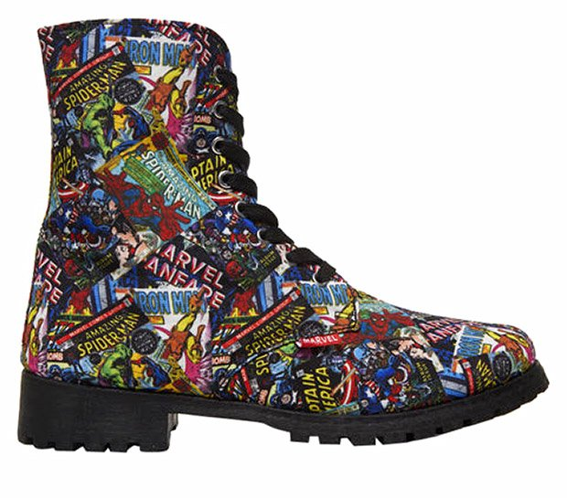 marvel comics boots