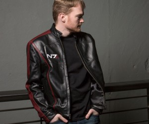 Mass Effect N7 Leather Jacket: Omni-cool
