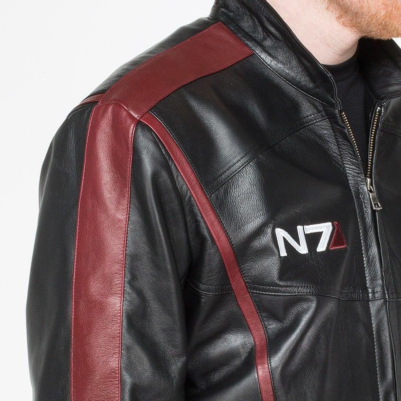 Mass Effect N7 Leather Jacket: Omni-cool