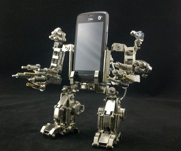 Mech Cellphone Holder Will Destroy All Other Cellphone Holders