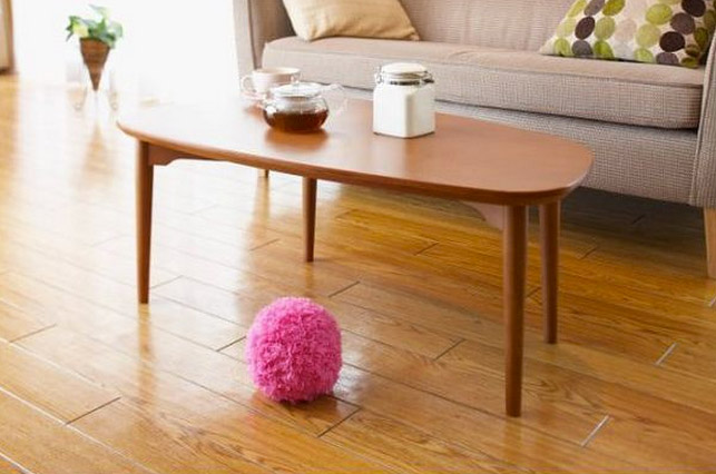 Mocoro Rolling Mop Ball Gathers No Moss Only Dust Bunnies
