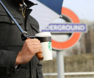Morella Adds a Cup Holder to Your Umbrella