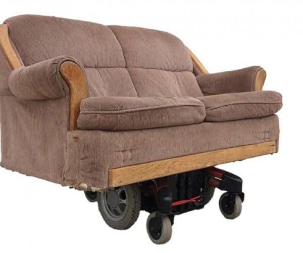 DIY Motorized Couch: Ridin' Lazy
