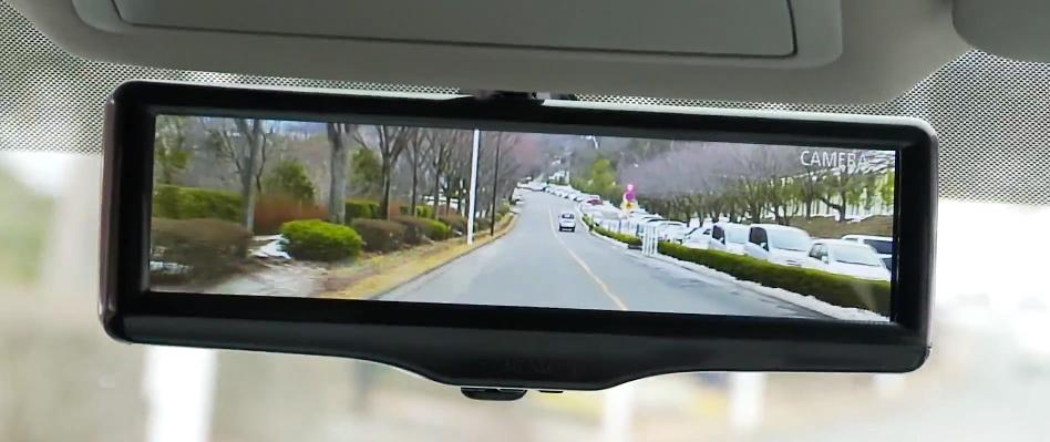 Nissan smart mirror