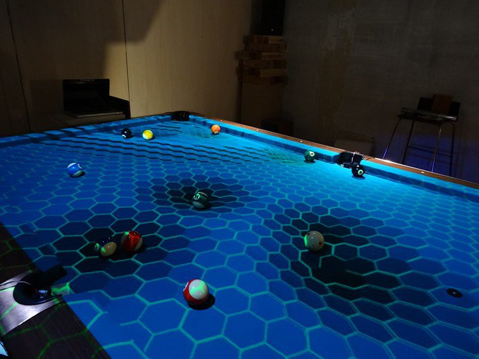 OpenPool Augmented Reality Kit Adds Visual Effects To Billiard - Masse pool table