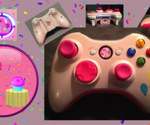 My Little Pony Custom Xbox 360 Controllers, Friendship Is Button Mashing
