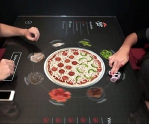 Pizza Hut's Touch Table Lets You Design the Perfect Pie