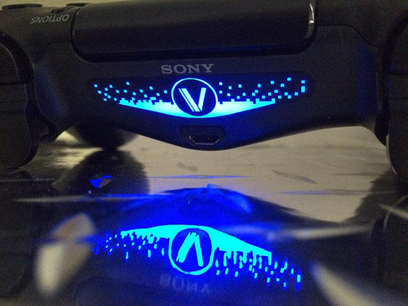 Ps4 Dualshock 4 Light Bar Decals Your Sign Here