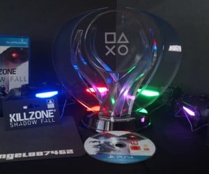 Fan Gives Himself PlayStation Platinum Trophy Replica: I'd Like to Thank Myself…