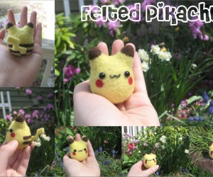 Adorable Felted Pokémon: Squeeze them All