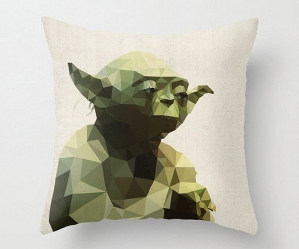 Star Wars Polygon Pillow Covers: The Geometric Side of the Force