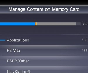 PS Vita 3.10 Update Memory Card Management, Increased Home Screen Capacity