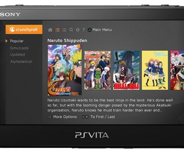PS Vita Gets Crunchyroll Anime App Among Others